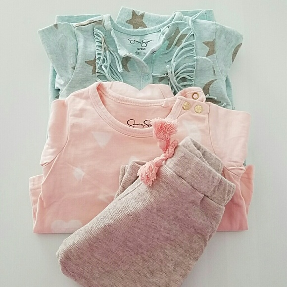 Jessica Simpson Baby Clothes Amazing Jessica Simpson One Pieces 60 Sets Of Baby Girl Clothing Poshmark